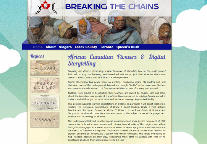 Breaking the Chains Site