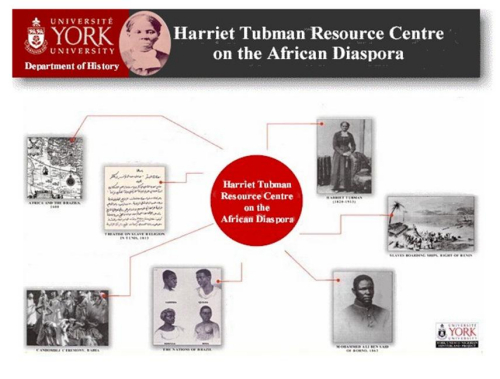 Tubman Resource Centre on the African Diaspora banner