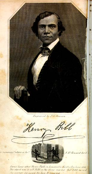 Portrait of Henry Bibb