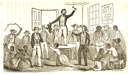 SLAVE SALE from the Henry Bibb autobiography