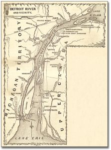 1. Map of Detroit River and Vicinity, 1869_Archives of Ontario