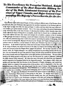12. Petition to Lt.-Gov. Maitland signed by Paola Brown and Charles Jackson, November 1828_RG 1, L3, vol 50_LAC microfilm C-1628 vol 50