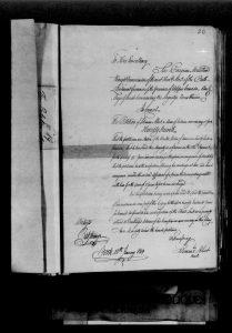 6. Petition of Solomon Albert, January 18, 1819_ RG 1, L3, vol. 7_LAC microfilm C-1611