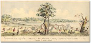 Encampment of the Loyalists in Johnstown