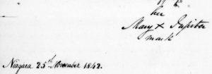 Mary Jupiter's (Name) Mark