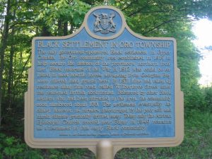 Oro Plaque in Simcoe