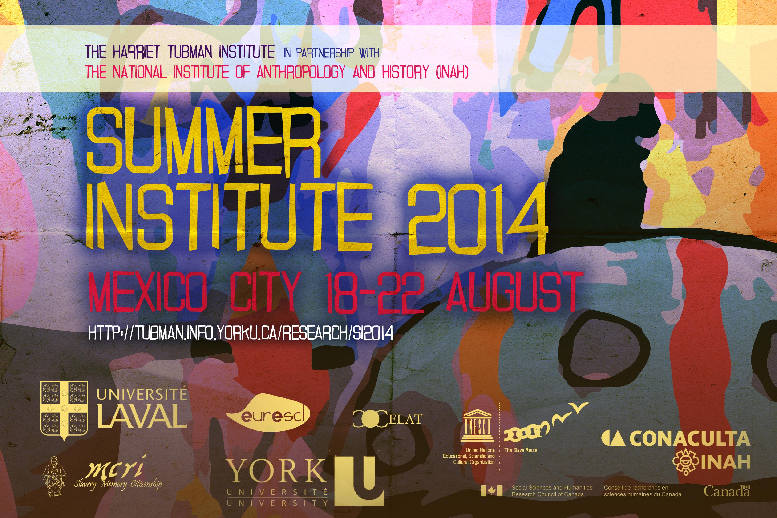 Summer Institute 2014 Banner